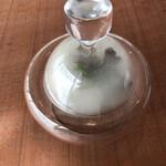 shirato - 林檎のチップでの瞬間燻製