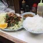 暁 - スタミナ定食(半ライス)