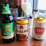 ニャーヴェトナム - ベトナムビール三種類