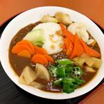 125311270 - 野菜たっぷりカレー(650円)