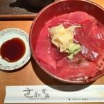 すし屋の芳国 - 料理写真:鉄火丼ランチ