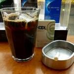 ツバキCafe - アイスコーヒー ¥250