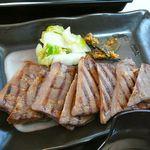 MMCオーガニックカフェ - 喜助の牛たん焼きらしい…2012/4
