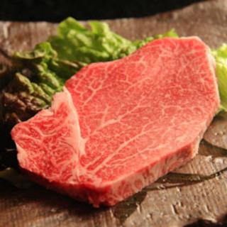 ヒレ肉最高の部分シャトーブリアンです。