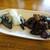 蕎麦屋 まんきち - 料理写真:すぐに出てきた漬物とキクラゲ