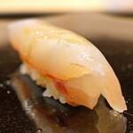 日本橋蛎殻町 すぎた - 鯵の昆布〆