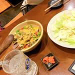 博多串焼と刺身 ココロザシ - クミンの香りのドレッシング、好きなヤツෆ̈