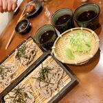 博多串焼と刺身 ココロザシ - 〆のお蕎麦