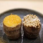 日本橋蛎殻町 すぎた - 海老芋のきぬかつぎ