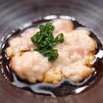 日本橋蛎殻町 すぎた - 肝醤油