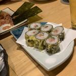 ととしぐれ - 天ぷら寿司
