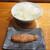 魚虎 - 料理写真:白メシ(中) 350円と