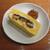 魚虎 - 料理写真:取り皿に取って断面