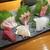 魚虎 - 料理写真:刺し盛り 2000円(二人前)