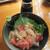 魚虎 - 料理写真:海鮮漬け丼(小) 680円