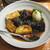 魚虎 - 料理写真:ナスビあげびたし 680円
