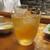 魚虎 - ドリンク写真:チョーヤの梅酒 500円(ロック)