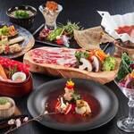 蕎麦と鉄板焼きDining 彩華 - 2020春の宴会コース一例