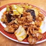 125327912 - 回鍋肉定食¥750