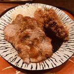 125329110 - カキフライと生姜焼き定食 1760円