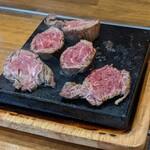 やみつきステーキ - 料理写真: