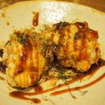 鉄板酒菜 ぶりお - 鱈白子ソース焼