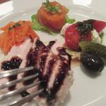 Burassurirurion - チキン胸肉のバルサミコソース