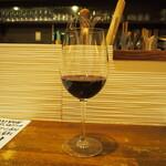 鉄板酒菜 ぶりお - 赤ワイン