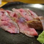 小食堂 みずき一丁目 - 料理写真:黒毛和牛ローストビーフ