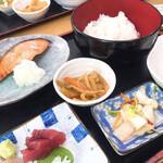 清水港 - 焼き魚定食