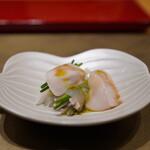 照寿司 - とらふぐ刺しと白子