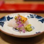 照寿司 - クエの刺身