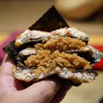 照寿司 - 鰻バーガー(1.5倍盛り)