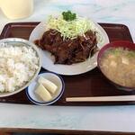 大平食堂 - 料理写真:焼肉定食