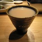 焼肉居酒屋 マルウシミート - 黒豆マッコリ