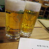 ももんじ - ドリンク写真:生ビール_500円×2