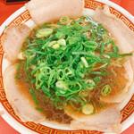 もっこす - 料理写真:中華そば サービスタイムで600円!