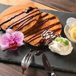 CAFE&BAR うーじの森 - パンケーキセット