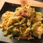 CAFE&BAR うーじの森 - 料理写真:ゴーヤチャンプルー
