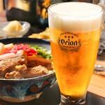 CAFE&BAR うーじの森 - オリオンビール(生)