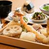 天麩羅 すえ廣 - 料理写真:4,000円の天麩羅コース