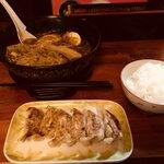 金太郎 - ラーメンライスと餃子