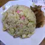 石狩亭 - しっとり系の好みの炒飯!辛搾菜でむせび泣く!