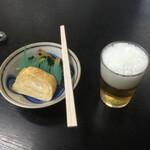 ヤマコ - 料理写真:卵焼きから始めました。