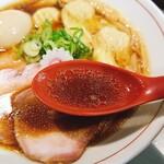 125357044 - まったり系醤油スープ※本文参照