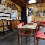 三角茶屋 - 歴史を感じるが綺麗な店内