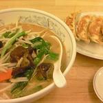 12536925 - タンメン+餃子