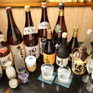 こだわりの日本酒やワイン