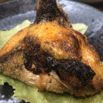 海鮮茶屋 サバニ - グルクンのウニ焼き 660円