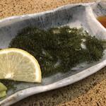 海鮮茶屋 サバニ - 海ぶどう 430円